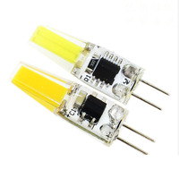 Bulb G4 LED 1505 SMD 1.5 W COB זרקור LEDLamp להחליף הלוגן נברשת AC220V 5/10/20/50/100 יחידות