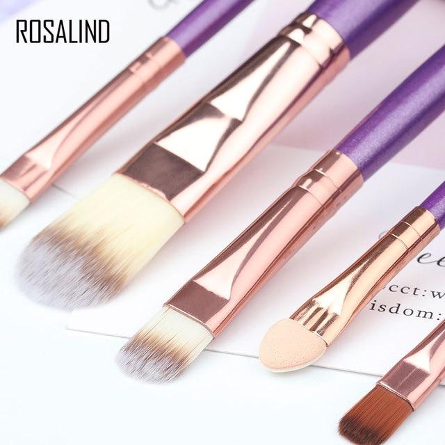 ROSALIND Makeup Brushes 20Pcs Professional Set Powder Foundation Eyeshadow Make Up Brushes Cosmetics Soft Synthetic Hair 4