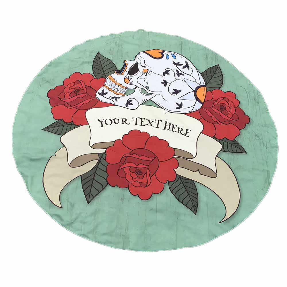 Скелет Ловец снов скатерть с принтом пляжное полотенце круглое, печатное хиппи гобелен пляжный, пикник бросок Йога Коврик Полотенце покрывало
