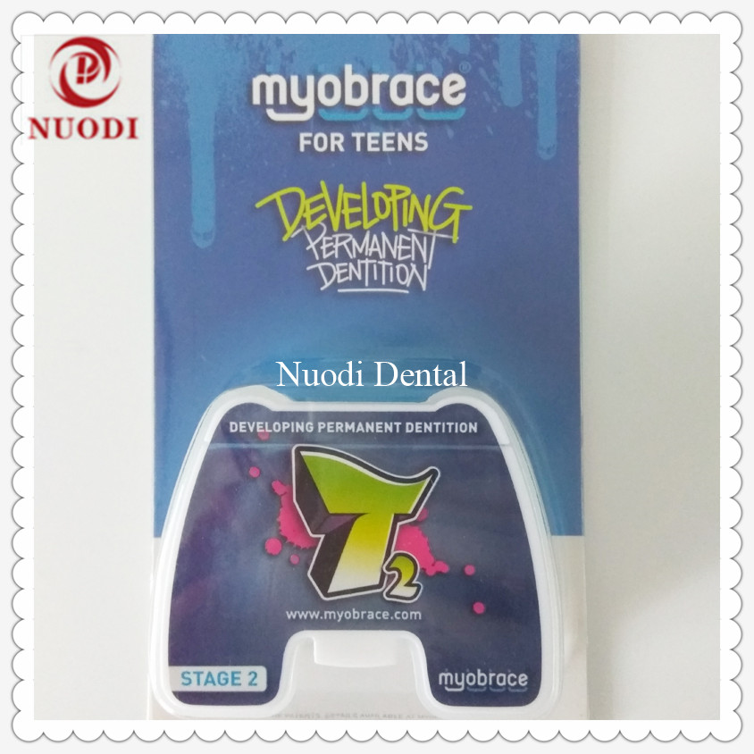Original MRC orthodontic teeth trainer T2 with Dynamicore Orthodontic Anterior crowding/Dental Orthodontic Brace T2 trainer orthodontic cephalometry