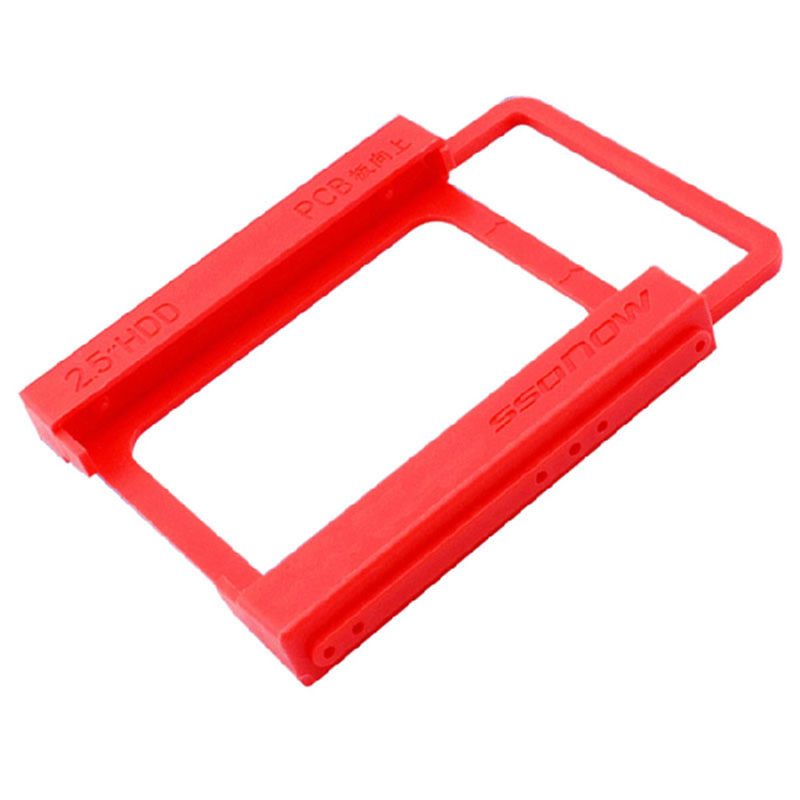 """2.5/"""" to 3.5/"""" SSD HDD Tray Bracket Hard Drive Bay Caddy Adapter Mounting New Hot"""