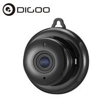 Digoo DG-M1Q 960P 2.8mm Wireless Mini WIFI Night Vision Smart Home Security IP Camera Support Onvif Monitor Black Grey