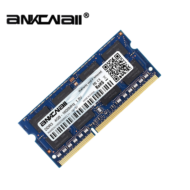 New DDR2 DDR3 2GB/4GB /8G RAM 667 800 1333 1600 186MHz PC3 10600S Laptop PC DIMM Memory 204pins For Intel System High Compatible