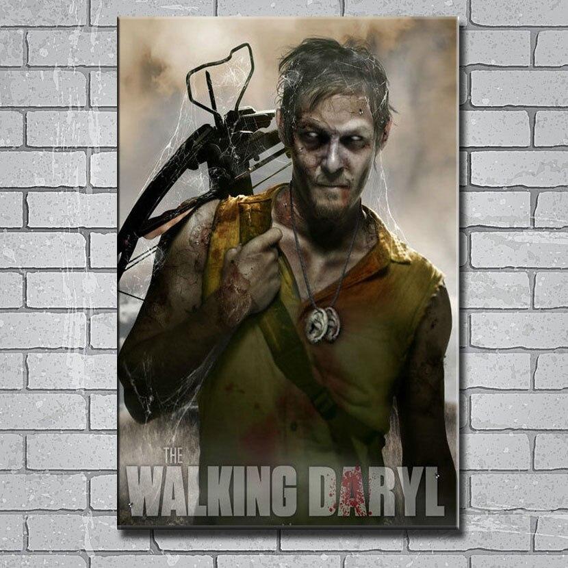 The Walking Dead TV Series Silk Poster Canvas Wall Art Print 12x18 24x36 inch