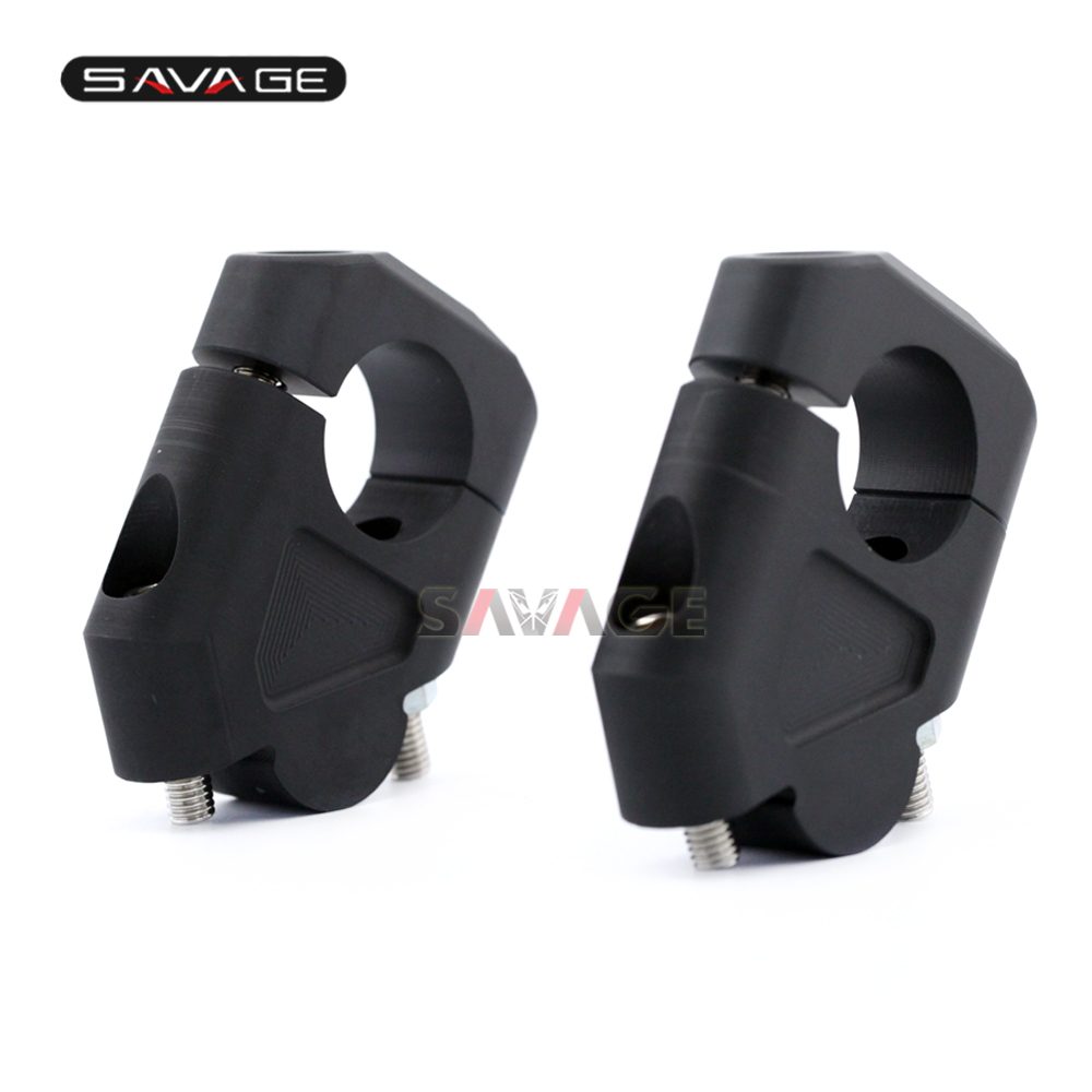 Riser Handle Bar Clamp Extend Adapter Handlebar For BMW R 1200 GS 1200GS R1200GS LC Adventure ADV 2013-2017 13 14 15 16 17 frame panel guard protector cover cap for bmw r 1200 gs 1200gs r1200gs lc adventure adv 2013 2016 13 14 15 16 motorcycle