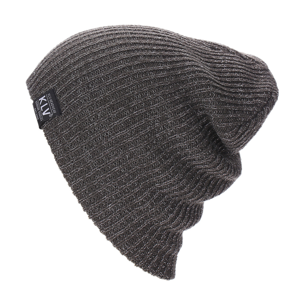 Casual Solid Knitted Wool Hats for Women Men Gorros New Elastic Caps Letter Pattern Winter Beanies Skullies Bonnet 7 Color LZ112 2016 new fashion letter gorros hats bonnets