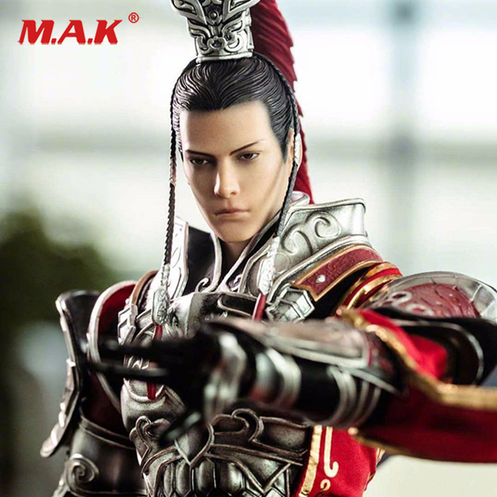 1/6 Scale Game Version Tian Ce Handsome Male Head Carved Model for 12male Action Figure Collection Toys Gift 1 6 scale asia special force t01 peng yuyan figure head model for 12 action figure collection toys gift