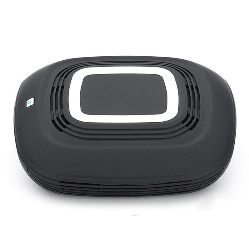 HOT!Dual USB car air purifier / purification box only (Noble black)HOT!Dual USB car air purifier / purification box only (Noble black)