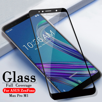 Перейти на Алиэкспресс и купить Полное покрытие из закаленного стекла для ASUS ZenFone Max Pro M1 ZB601KL ZB602KL 6 дюймЗащитная Пленка премиум-класса для телефона glas 3D