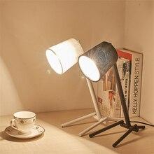 купить Modern Lights Iron E27 LED Table Lamps Bedroom Living Room Study Loft  Desk Lights Lighting Dimmable Table Light Luminaria Avize по цене 2928.3 рублей