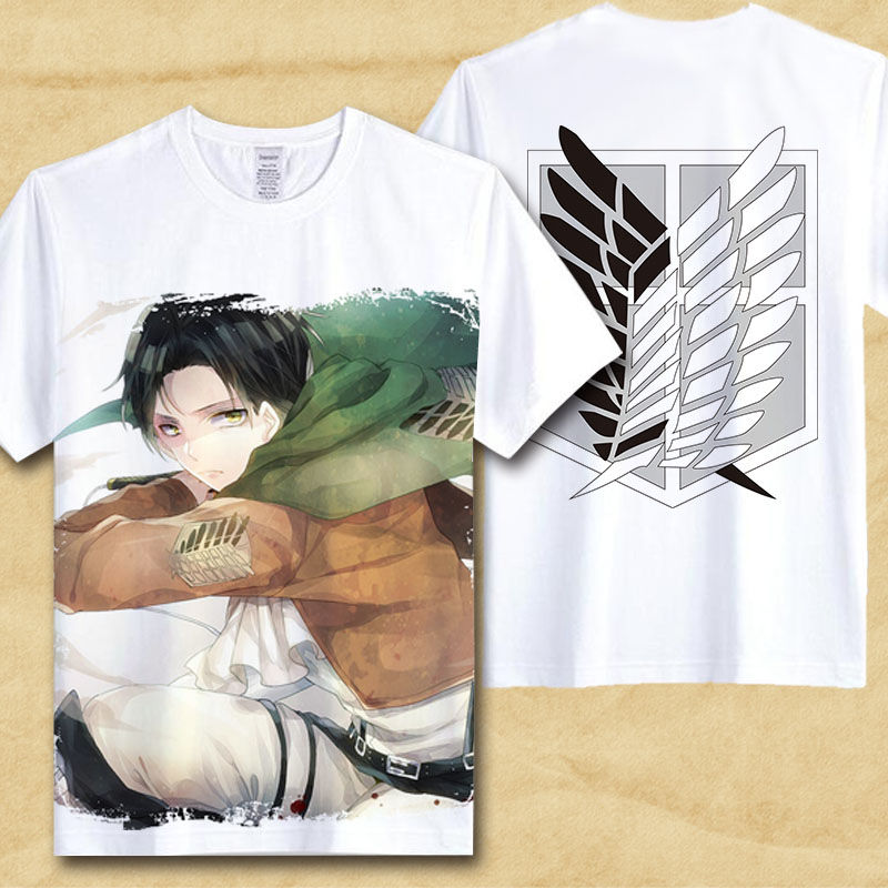 HTB1qlxRPFXXXXaUXFXXq6xXFXXXO - Japanese Anime T Shirt Men attack on titan shirt boyfriend gift ideas