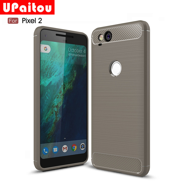 buy popular 611be 54250 US $2.99 25% OFF|UPaitou For Google Pixel 2 Case Ultra Slim Thin Carbon  Fiber Case Scratch Resistant Soft TPU Back Cover for Pixel2 2017 Case-in ...