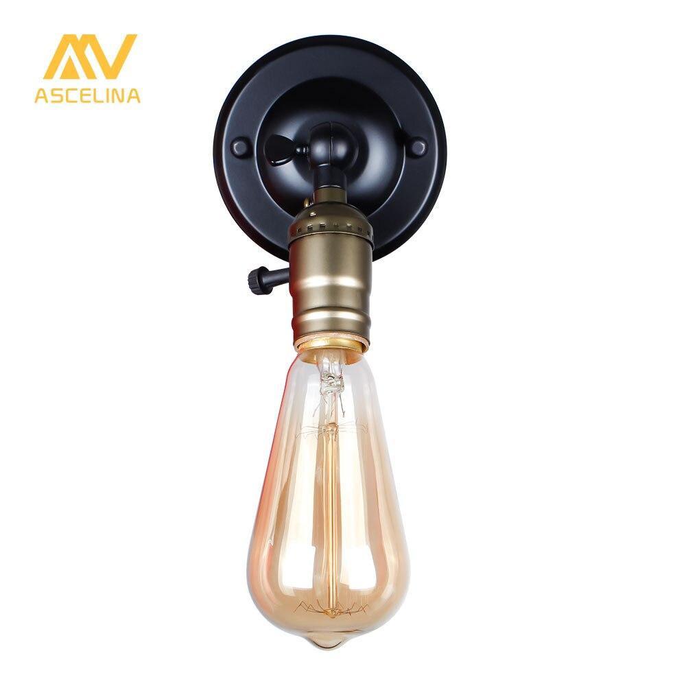 Lâmpadas de Parede américa retro iluminação de ferro Aplicação : Quarto de Dormir