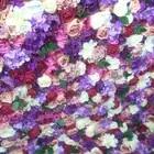 SPR закатать цветок из текстиля стены 4ft * 8ft Искусственный Свадебный случай фон цветочный орнамент украшения Бесплатная доставка - 4