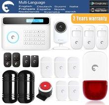 Etiger eTIGER S4 IR Detector de Haz de Infrarrojos 100 M + Cámara IP GSM/PSTN Sistema de Alarma de Intrusión Para El Hogar/oficina