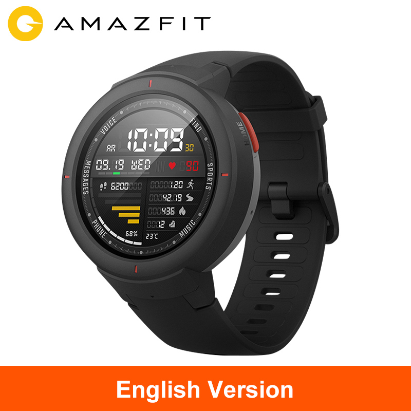 Global Version Huami Amazfit Verge Sport Smart Watch On board Music Call Answer Alexa Support Message