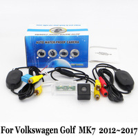 Car Rear View Camera For Volkswagen VW Golf 7 Golf7 2012 2017 RCA AUX Wired Or