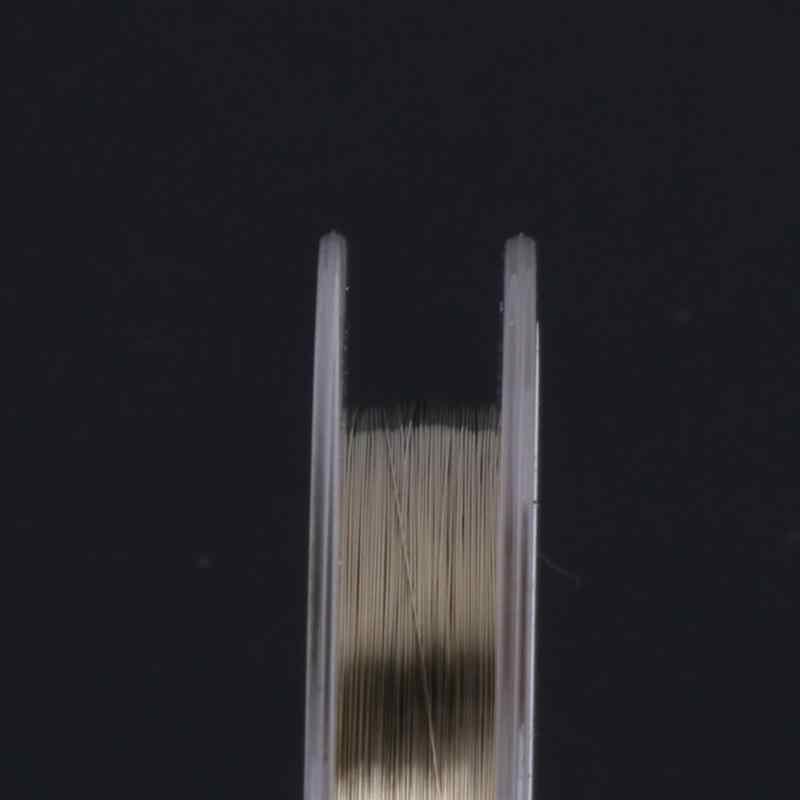 0.1 Mm LCD Pemisah Emas Molybdenum Kawat Molibdenum Ponsel Kawat untuk Ponsel Kaca Perbaikan Alat 100 M Kualitas Tinggi baru Panas
