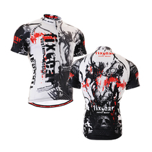 Men's short sleeve cycling jersey Roupa Ciclismo/Breathable Bicycle Cycling Clothing/Quick-Dry Racing Bike Sports Wear