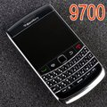 Original blackberry bold 9700 teléfono móvil 5mp 3g wifi gps qwerty bluetooth 9700 smartphone & garantía de un año