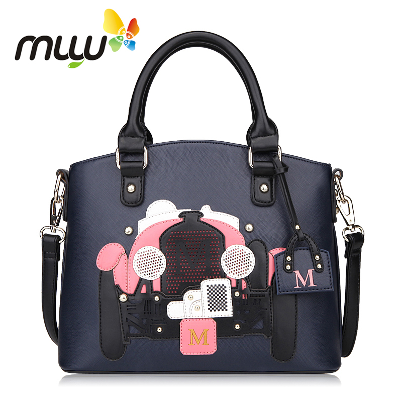 Muyu 2018 Vintage Single Shoulder Bag for Women Adjustable Strap Zipper Closure Ladies Crossbody Bags Fashion PU Handbags