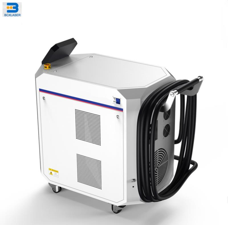 Сделано в Китае Завод питания 100 Вт металла лазерной машины для очистки ржавчины удаления