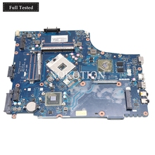 NOKOTION MBBVV02001 MB.BVV02.001 Laptop Motherboard For Acer aspire 7750 7750G P7YE0 LA-6911P HM65 DDR3 HD7400M MAIN BOARD works