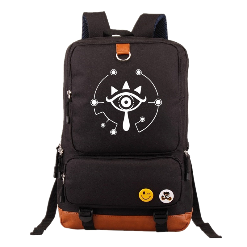 Anime The Legend of Zelda Cosplay Backpack mochila Casual Backpacks Teenagers Men Women's Student School Bags Travel Laptop bag хочу сеятель выпущенном в 1923 году