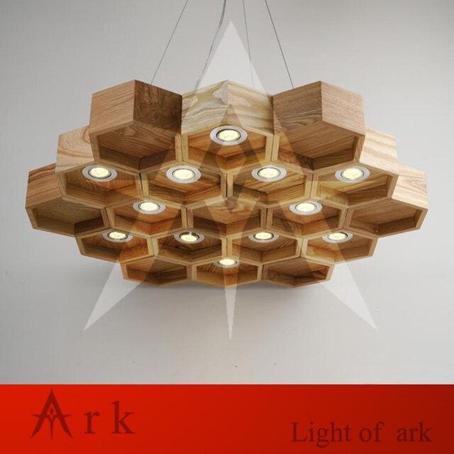Arche Lumiere En Nid D Abeille En Bois Moderne Fait Main Creatif En