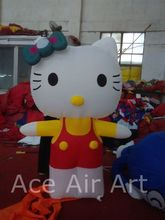 Good Quality 2m H Inflatable  Hello Kitty Balloon With Free Air Blower for Advertising,Party