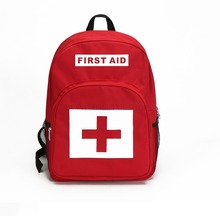 Empty Bag Backpack for First Aid Ki