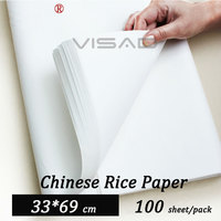 33*69 cm white Chinese painting paper,rice paper for Painting and Calligraphy,xuan paper free shipping
