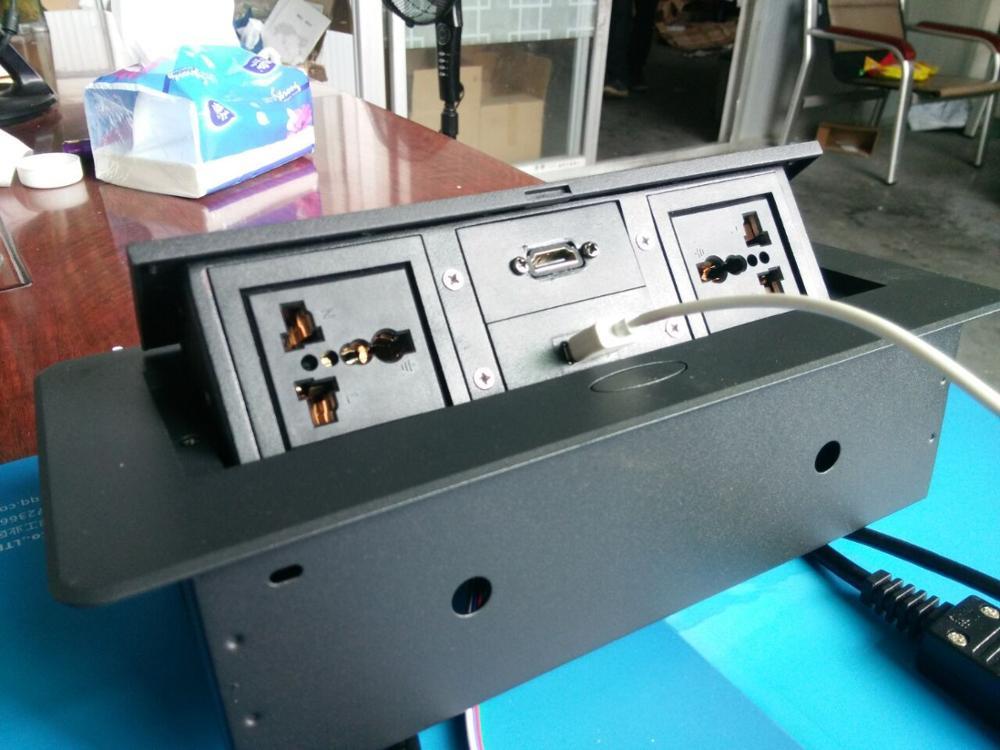 Office conference multimedia socket /hidden /HDMI USB ...