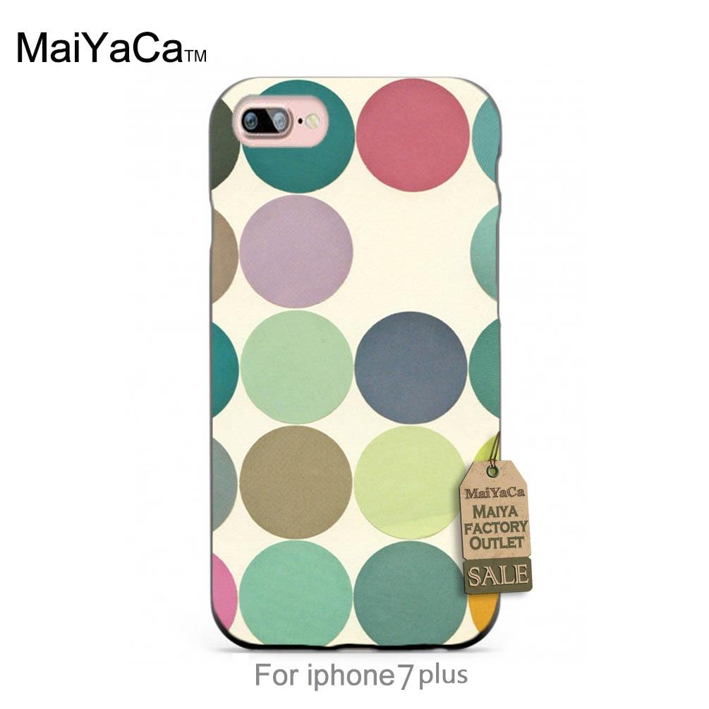e29649621 MaiYaCa غطاء من السيليكون الحديثة هندسية الفن طباعة الدوائر الأصلي غطاء  إطار هاتف محمول ل حالة 6 6 زائد 7 7 زائد