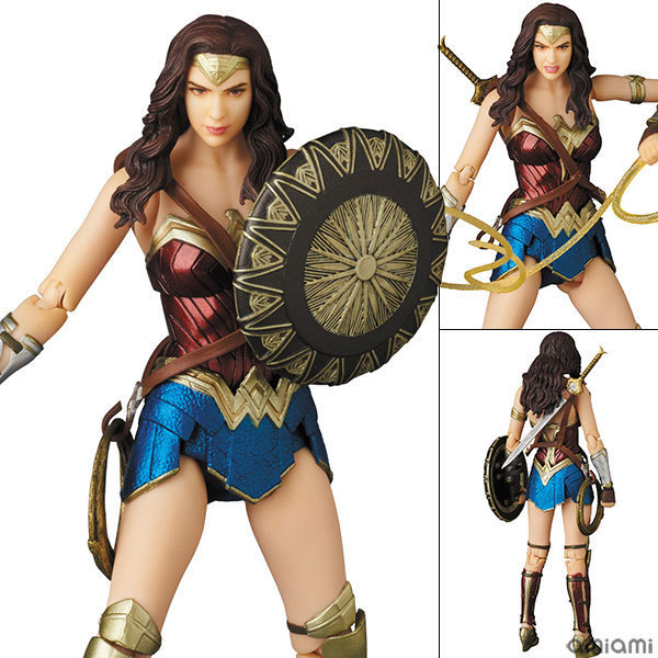 JHACG 15cm Justice League Wonder Woman Super hero movable Action figure toys doll Christmas gift with box
