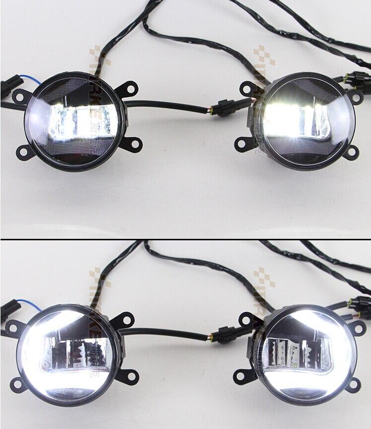 LED DRL daytime running light 20W led Fog Lamp for Renault Megane, Fluence 2011-now boaosi 2x h11 high power led light cob 7 5w fog light driving drl car light for renault megane fluence koleos latitude