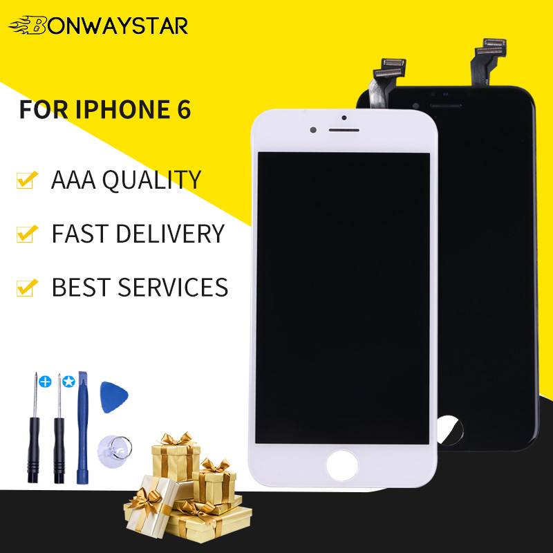 High Quality <font><b>Screen</b></font> For <font><b>iPhone</b></font> <font><b>6</b></font> LCD Display <font><b>Screen</b></font> and Digitizer Replacement Touch <font><b>Screen</b></font> For <font><b>iPhone</b></font> <font><b>6</b></font> A1549 <font><b>A1586</b></font> A1589 lcd image