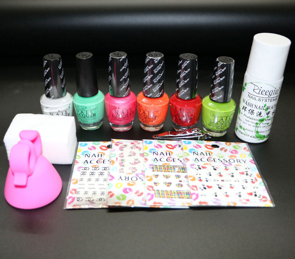 nail polish kit ,OPIL nail polish set ,Manicure set ,6pcs of nail ...