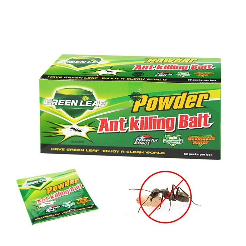 50pcs Powerful Killer Ants Killing Bait Powder Ants Drugs Repellent Trap Pest Control Effective Killing Termite Red Ants