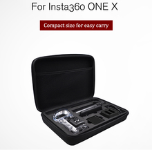 Insta360 واحد x اكسسوارات أجزاء مشروع حافظة رصاصة الوقت حزمة Selfie عصا دوران مقبض حمل حقيبة 360 فيديو حقيبة كاميرا