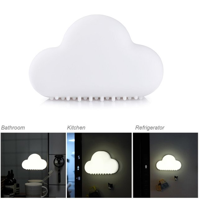 Baby smart night light rechargeable motion sensor cloud led soft light for kids room bedroom