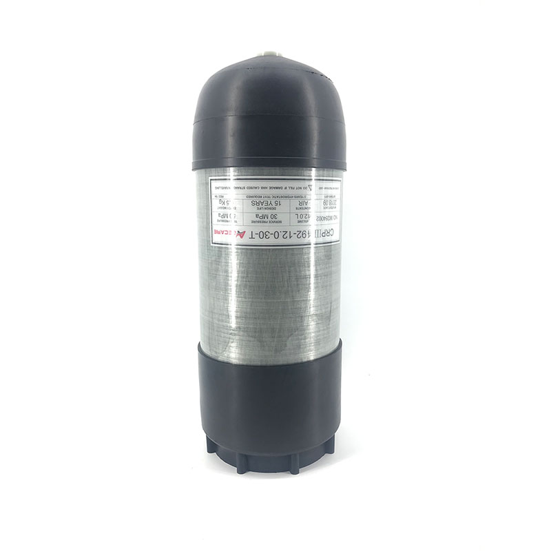 AC9090 Acecare 12L Rubber Boots / Protective Cover For 12L Scuba Tank Carbon Fiber Gas Cylinder Pcp Air Tank