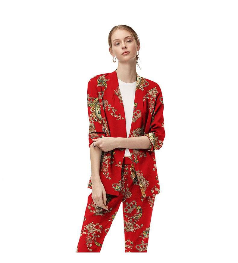 Neutres Pants Femmes Rouge Custom And Veste Cool jacket Fille V Jacket T Modèle Pantalon Made Stret Parti Costumes De cou wXUqnP5U