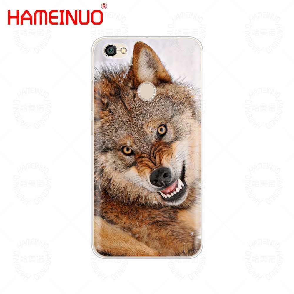 wolf animal Cover phone Case for Xiaomi redmi 5 4 1 1s 2 3 3s pro PLUS  redmi note 4 4X 4A 5A prime
