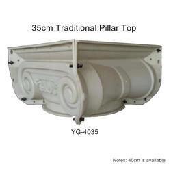 35 см (13,78 дюйма, внутренний диаметр) абс традиционный плоский прочный круглый бетонный Римский Столб Плесень с тюльпаном, цветок и точки