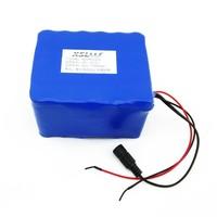 12v18650 20A lithium ion batterie plaque de protection 20000 MAH pour la chasse et de pêche lumières ampoules de différentes tailles