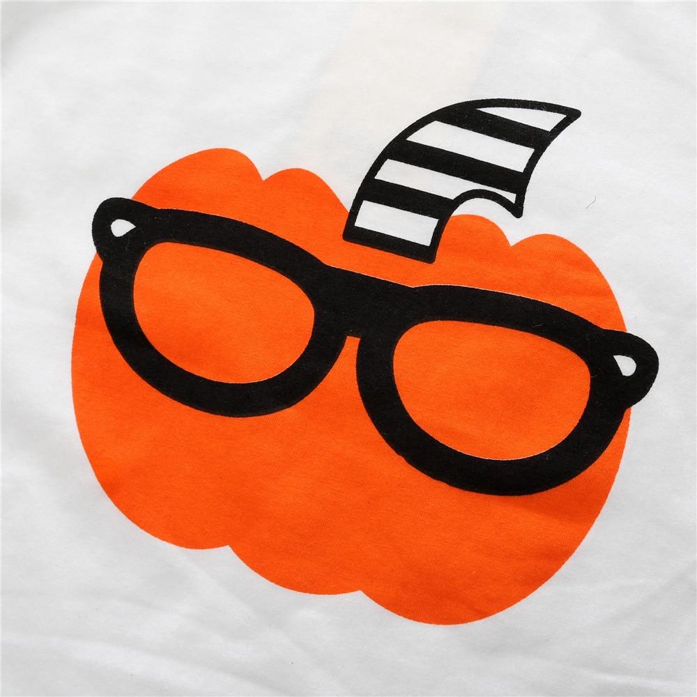 Pumpkin Baby Boys Clothes Suits Halloween Children 2PCS Clothing Sets Cotton Toddler Tee Shirts Pants Kids Outfits Sport Suits 6
