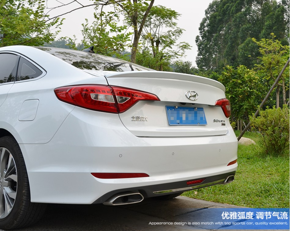 Spoiler For Hyundai Sonata 9 2017 2016 High Quality Rear Wing Spoilers Trunk Lid Diffuser In Wings From Automobiles Motorcycles On
