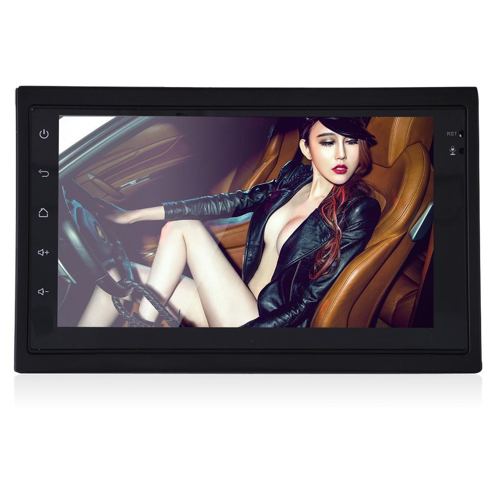 Pour Universa Ultra-Mince 7 pouce 2DIN Bluetooth WIFI Navigateur Radio MP5 Audio Lecteur GPS Caméra de Recul RDS Quad-core android6.0