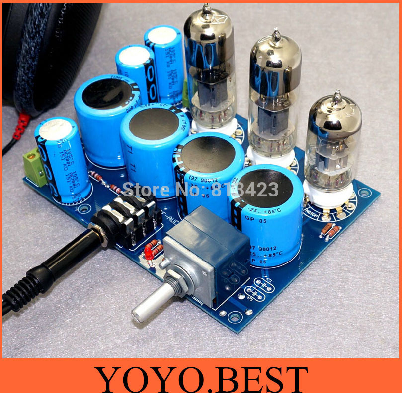 wcf pure tube headphone amp diy kit high end tube amplifier kit not contain tubes in amplifier. Black Bedroom Furniture Sets. Home Design Ideas